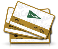tarjetas regalo del corte ingles de que importes pueden ser